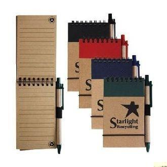 Tradie Recycled Notepad with Pen