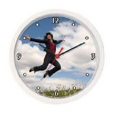 Hangtime Wall Clock