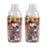 Assorted Colour Jelly Beans In Acrylic Cocktail Shaker